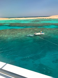 Scuba Travel, Lagoon,Red Sea, Gubal Island, the Barge