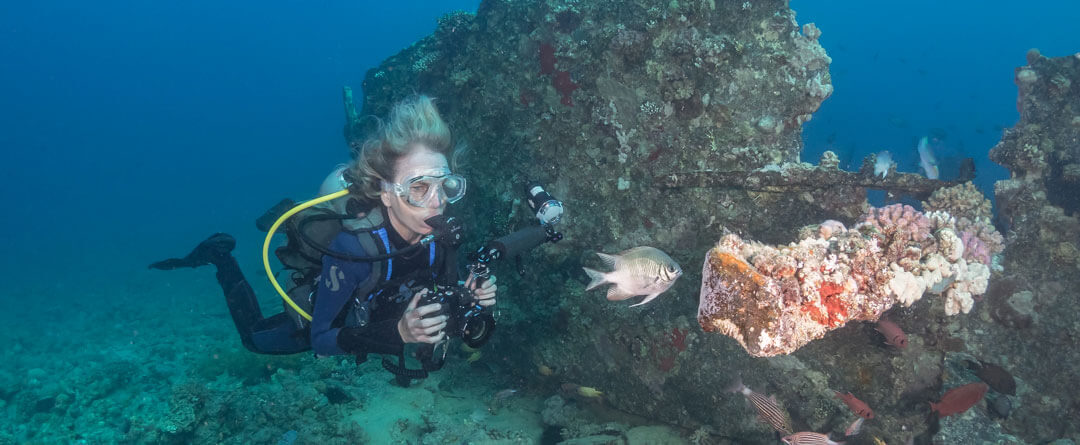 Scuba Travel, Mario Vitalini, Photo workshops, Tornado Marine Fleet,