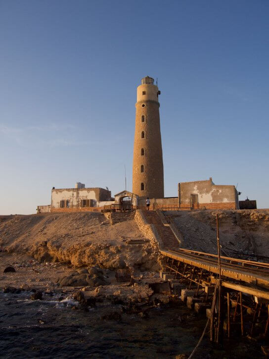 Lighthouse Big brother Red Sea