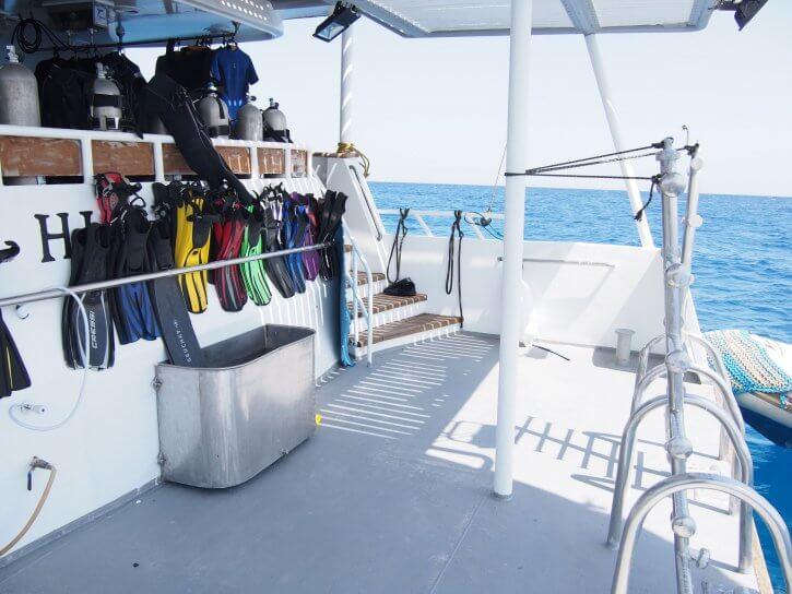 Hurricane dive deck