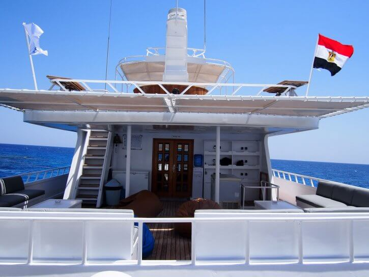 Perfect place to relax Hurricane Liveaboard Red Sea