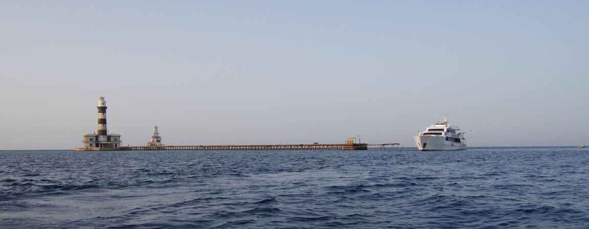 Hurricane At Daedalous Reef Red Sea Egypt Scuba