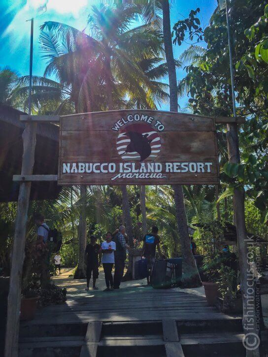 Nabucco island Resort, ScubaTravel, fishinfocus