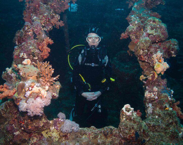 Scuba Travel, wreck, wreck kind of diver