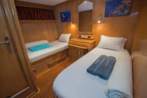 Scuba Travel, Whirlwind, lower deck cabin,Egypt, Red Sea