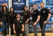 Scuba Travel, Team, GoDiving show