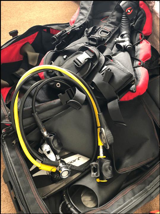 Scuba Travel, dive kit
