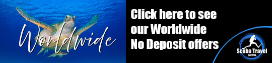 Scuba Travel, diving holidays, No deposit holidays