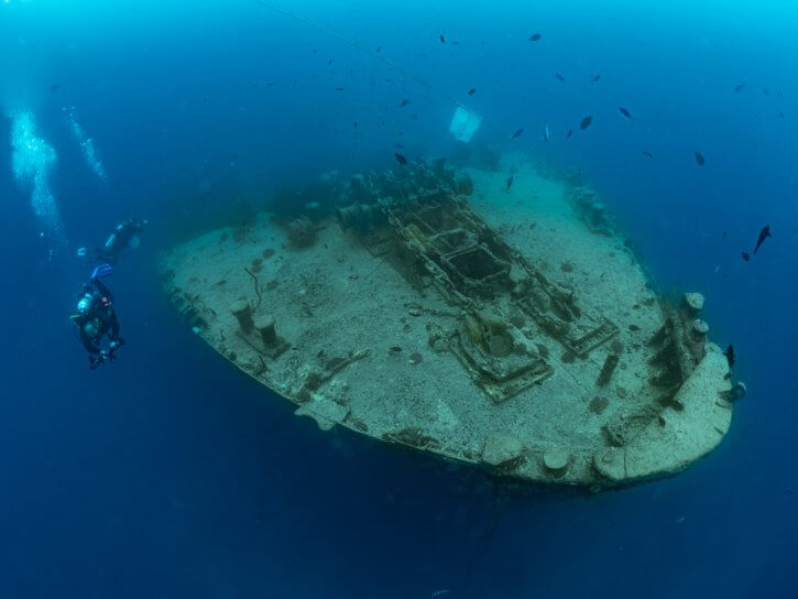 Scuba Travel, Remembering the Thistlegorm on VE Day
