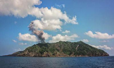 Spectacular Barren Island